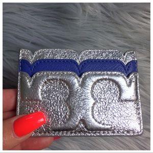 ✭★✶ TORY BURCH ✭★✶ Credit Card Holder Metallic